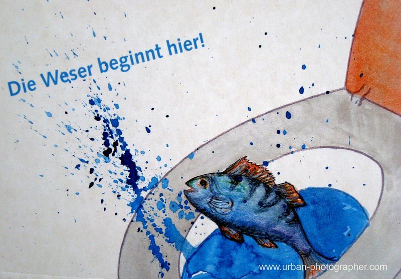 """Ausstellung """"Abwasser"""" m alten Pumpwerk Findorff"""