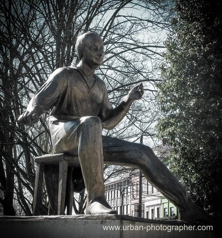 Heinrich-Heine Denkmal