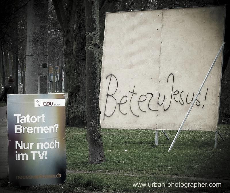 Tatort Bremen - Beten zu Jesus ,nur noch im TV !