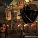 Spanierin Ana spendet Bremen Licht