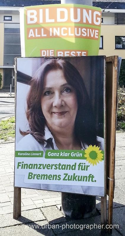 Wahlkampf Bremen 2015 - Grüne vereinnahmen Piratenpartei 3
