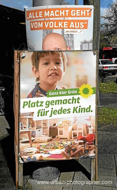 Wahlkampf Bremen 2015 - Grüne vereinnahmen Piratenpartei 2