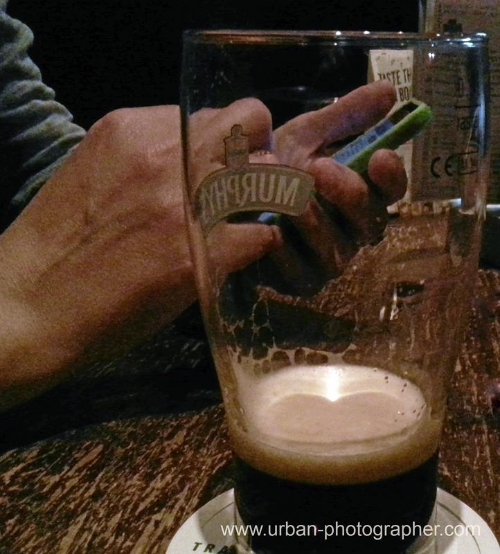Bier und Iphone