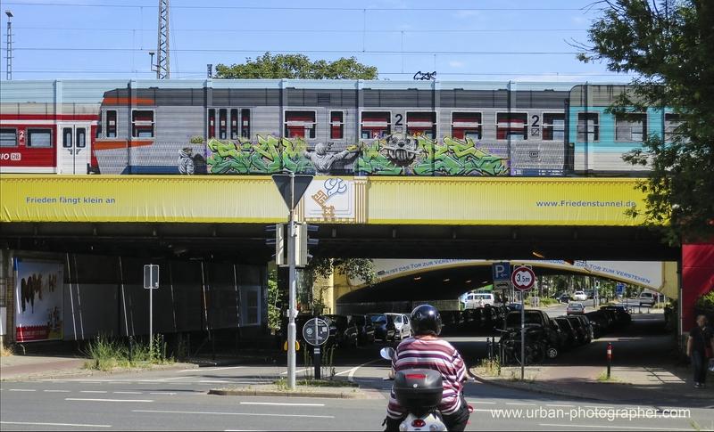 Der Stolz der Graffitisprayer !