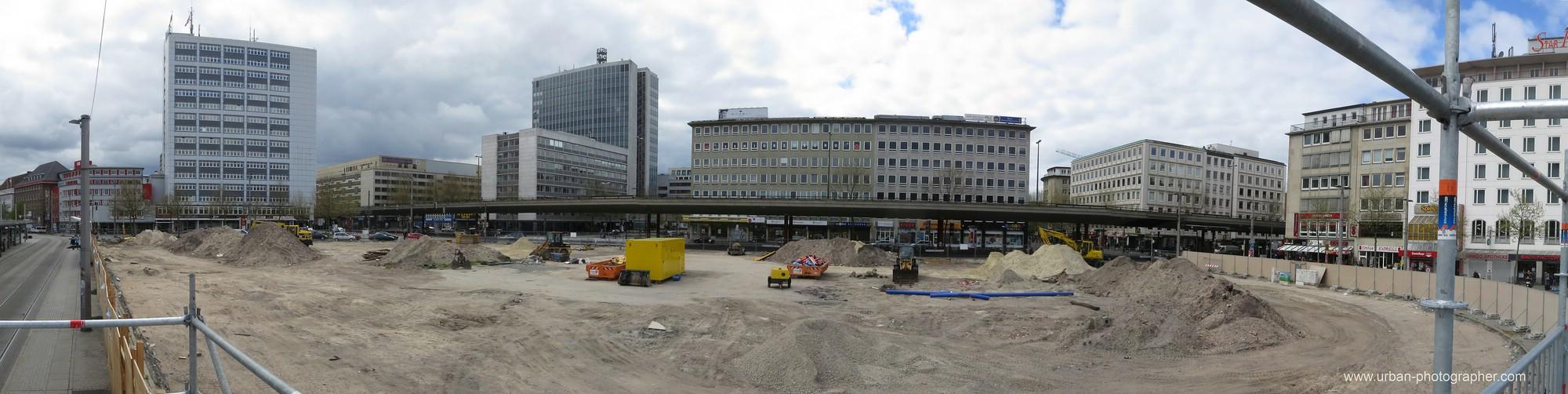 Baustelle Bahnhofsplatz 3