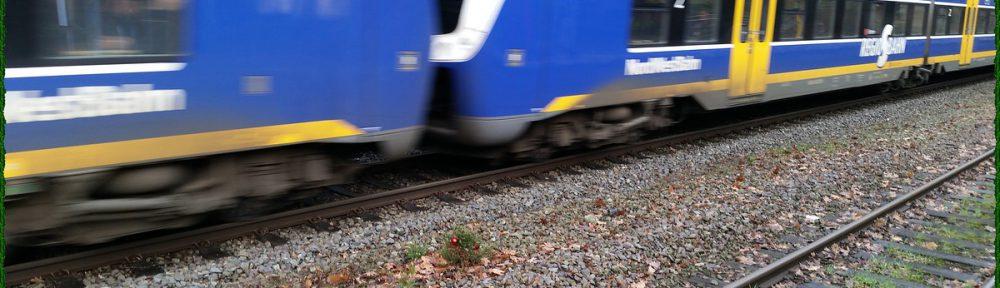 Tannenbaum Bahnhof Bremen-Lesum