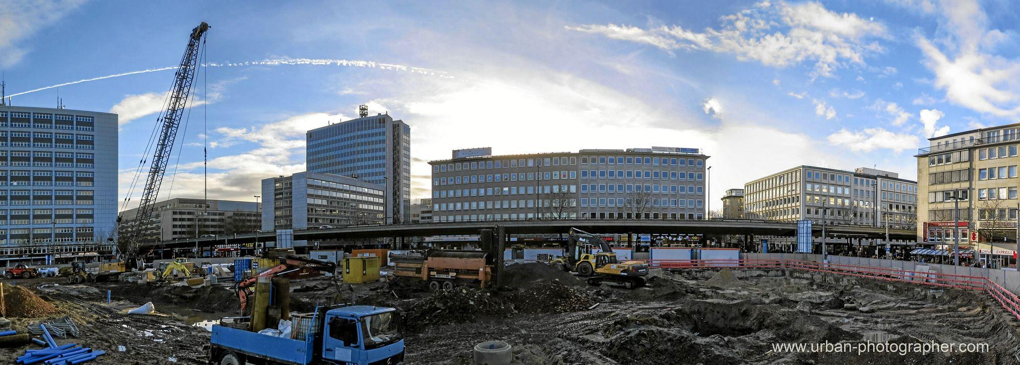 Baustelle Bahnhofsplatz 15