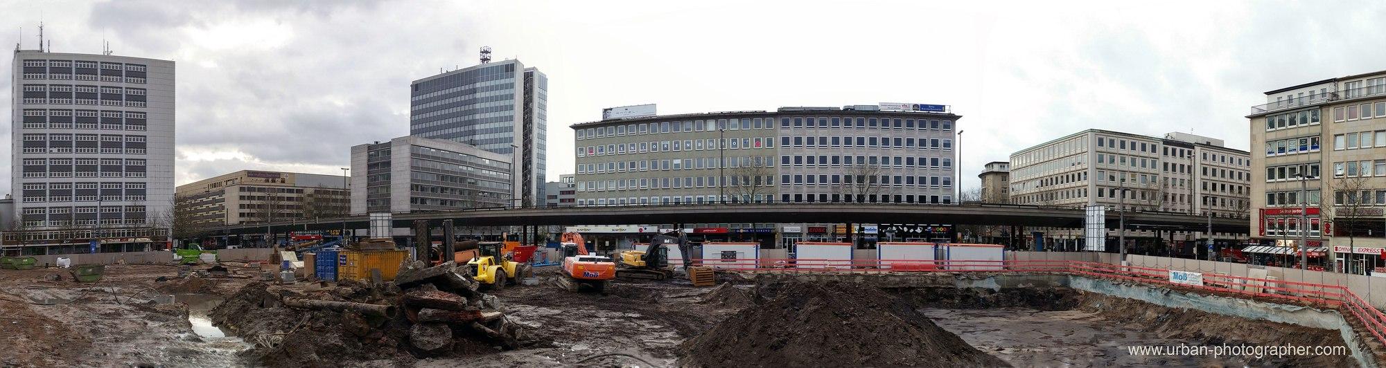 Baustelle Bahnhofsplatz 16
