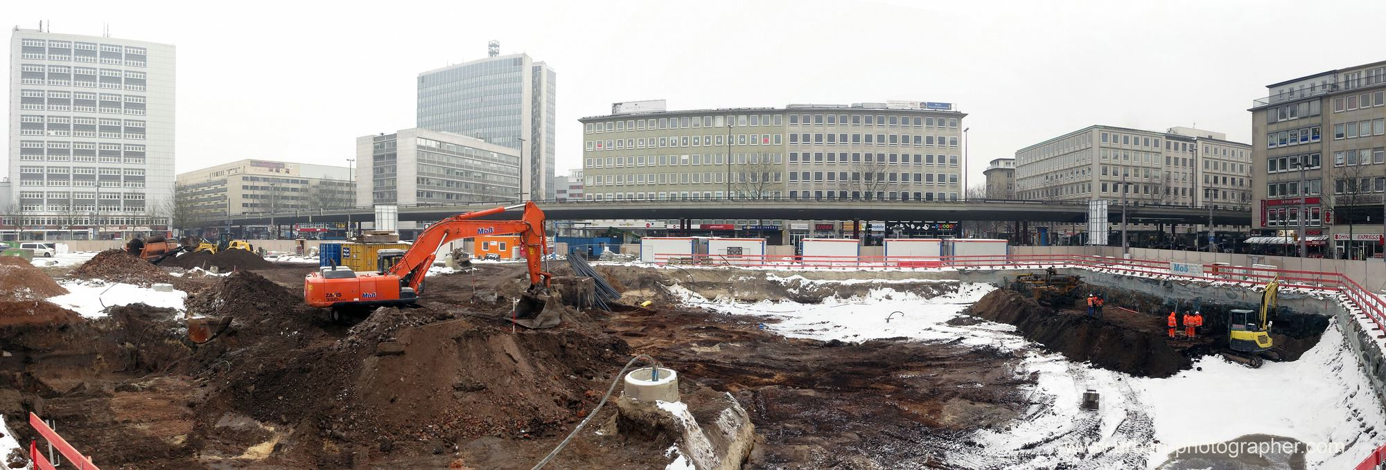 Baustelle Bahnhofsplatz 18