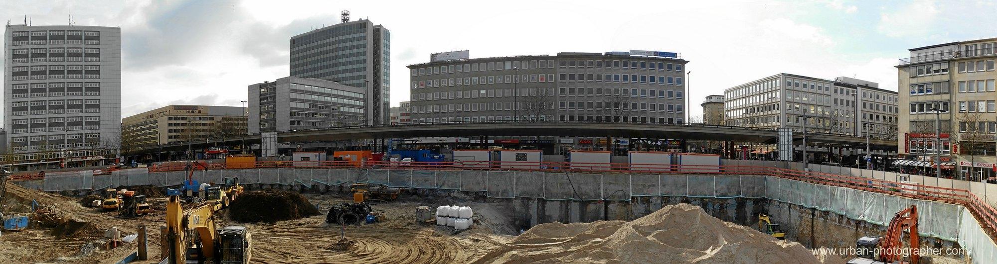 Baustelle Bahnhofsplatz 19