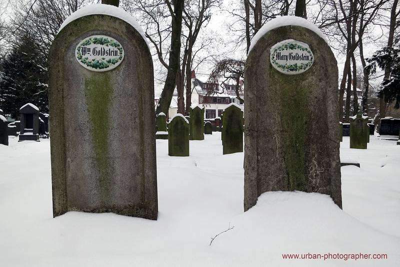 Impressionen alter jüdischer Friedhof Bremen 11