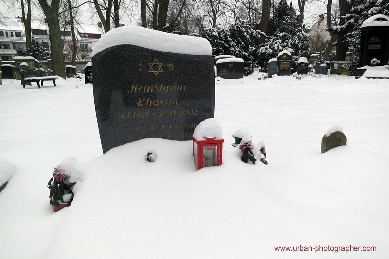Impressionen alter jüdischer Friedhof Bremen 14