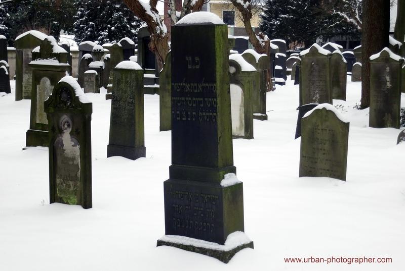 Impressionen alter jüdischer Friedhof Bremen 16