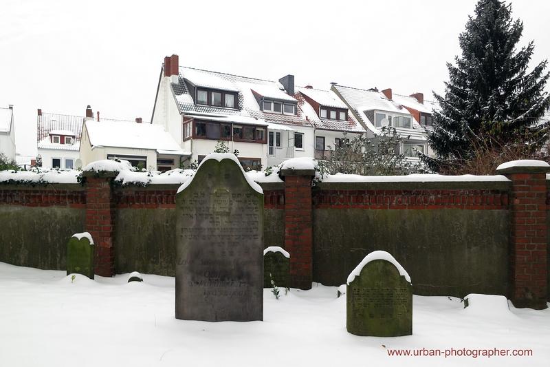 Impressionen alter jüdischer Friedhof Bremen 17