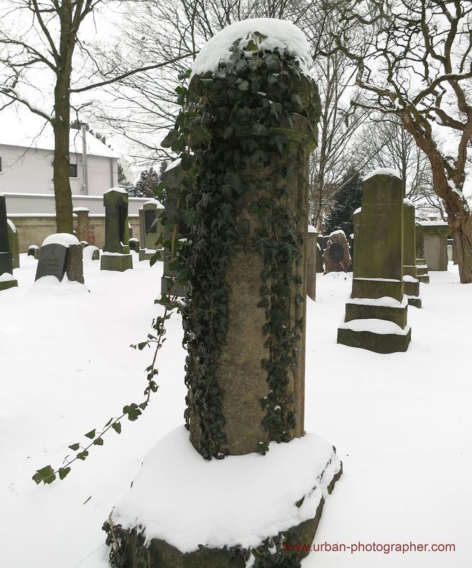 Impressionen alter jüdischer Friedhof Bremen 19