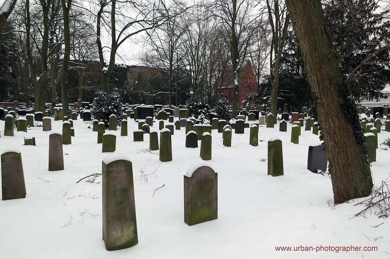 Impressionen alter jüdischer Friedhof Bremen 9