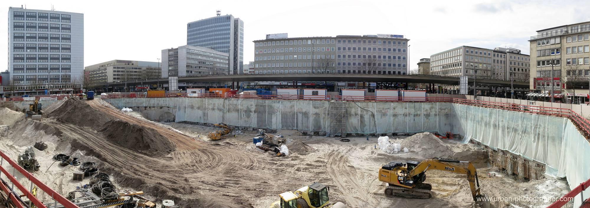Baustelle Bahnhofsplatz 35