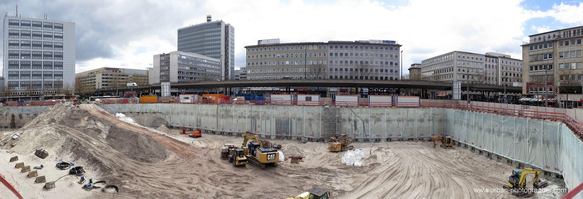 Baustelle Bahnhofsplatz 45