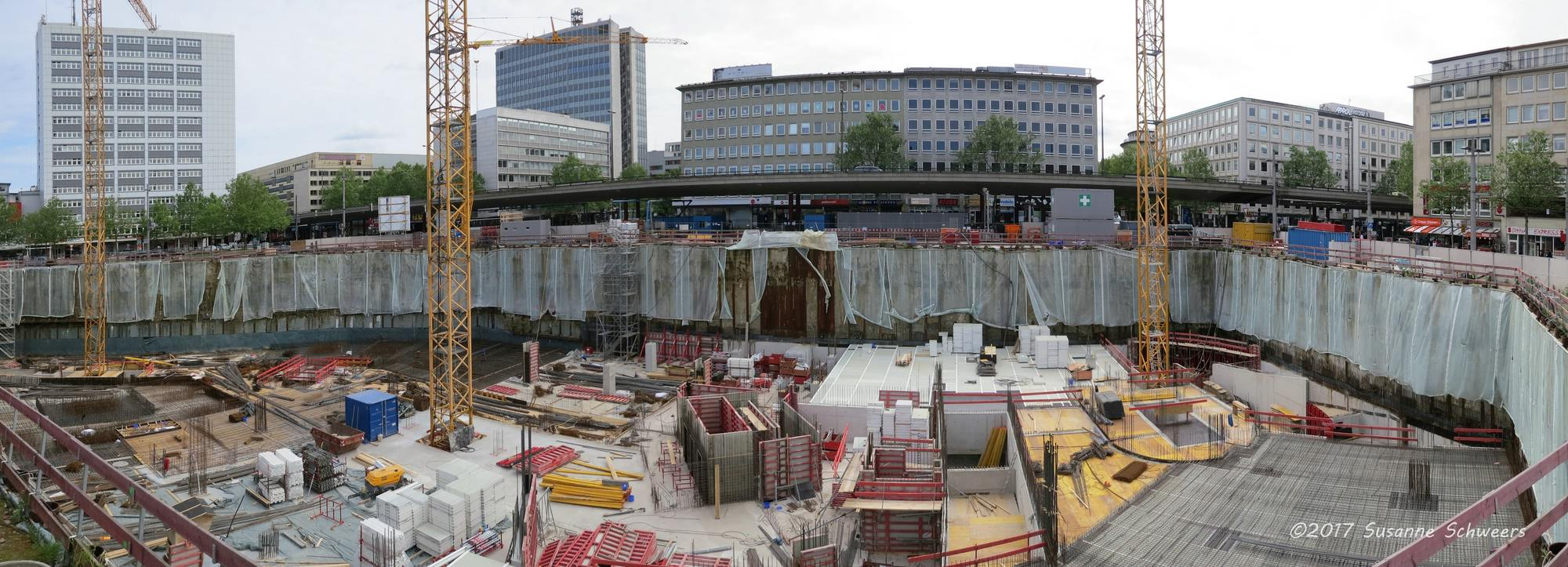 Baustelle Bahnhofsplatz 119