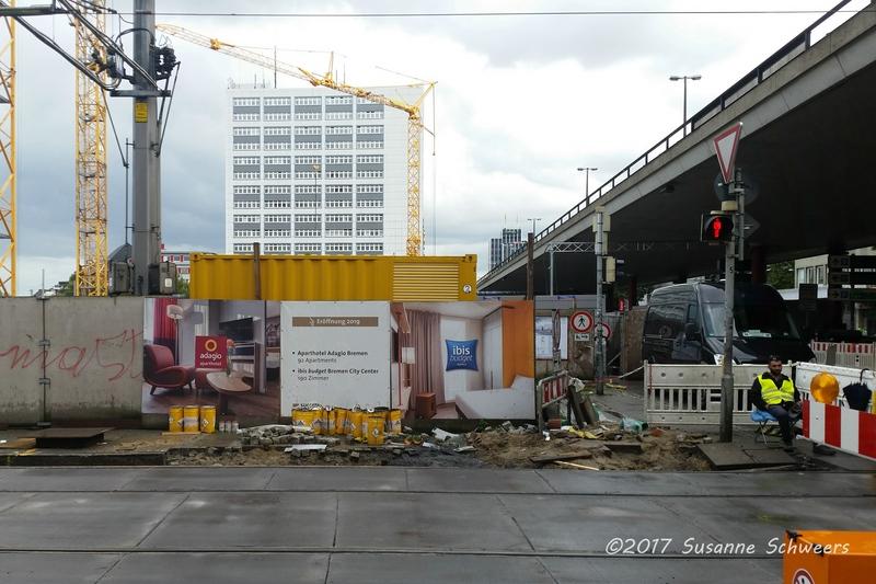 Baustelle Bahnhofsplatz 152