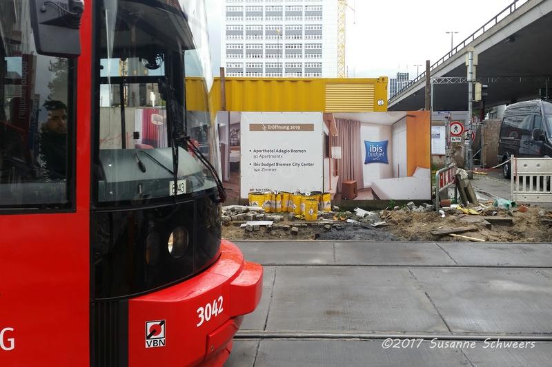 Baustelle Bahnhofsplatz 153