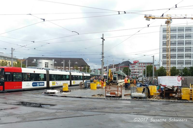 Baustelle Bahnhofsplatz 155