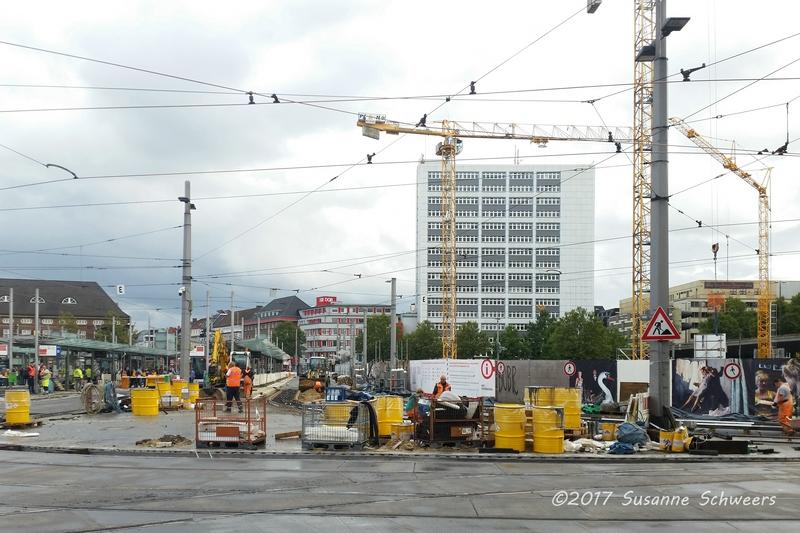 Baustelle Bahnhofsplatz 156