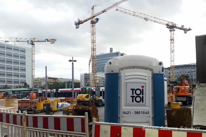 Baustelle Bahnhofsplatz 158