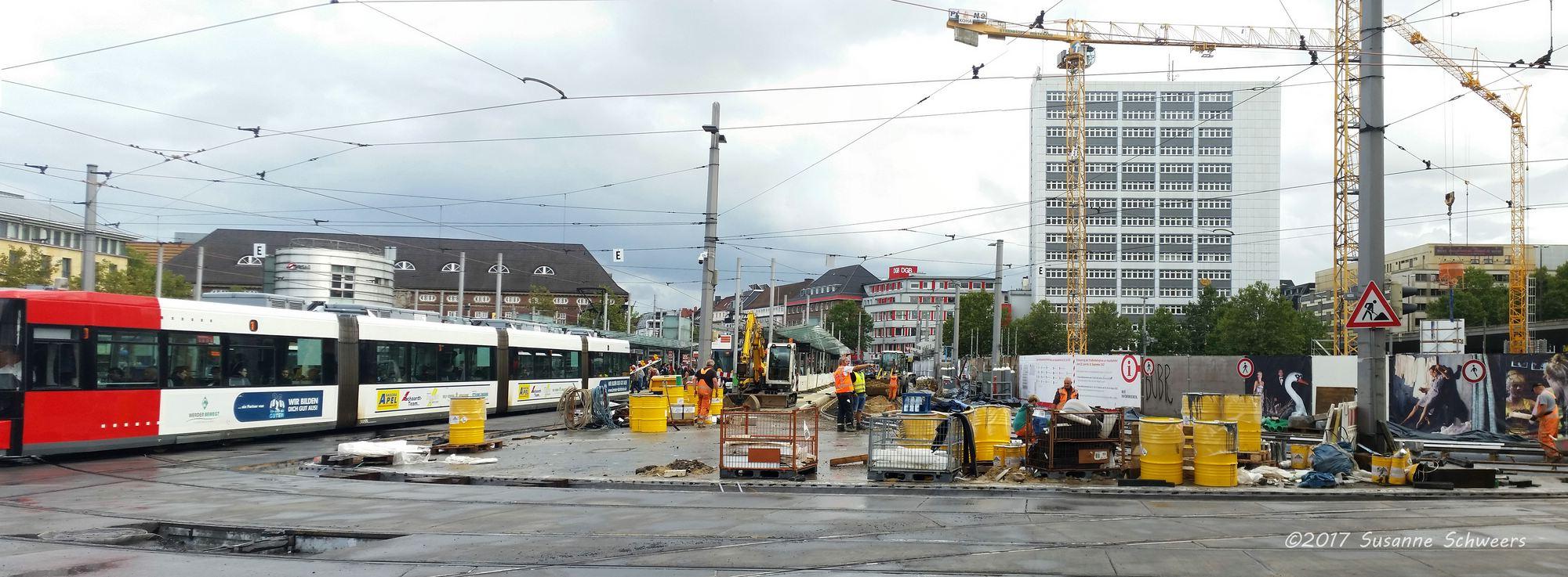 Baustelle Bahnhofsplatz 160