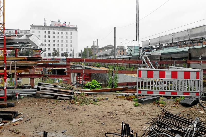 Baustelle Bahnhofsplatz 163