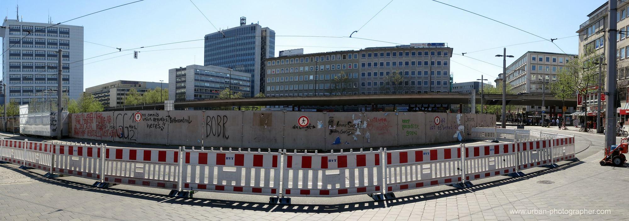 Baustelle Bahnhofsplatz 52