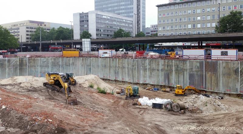 Baustelle Bahnhofsplatz 62