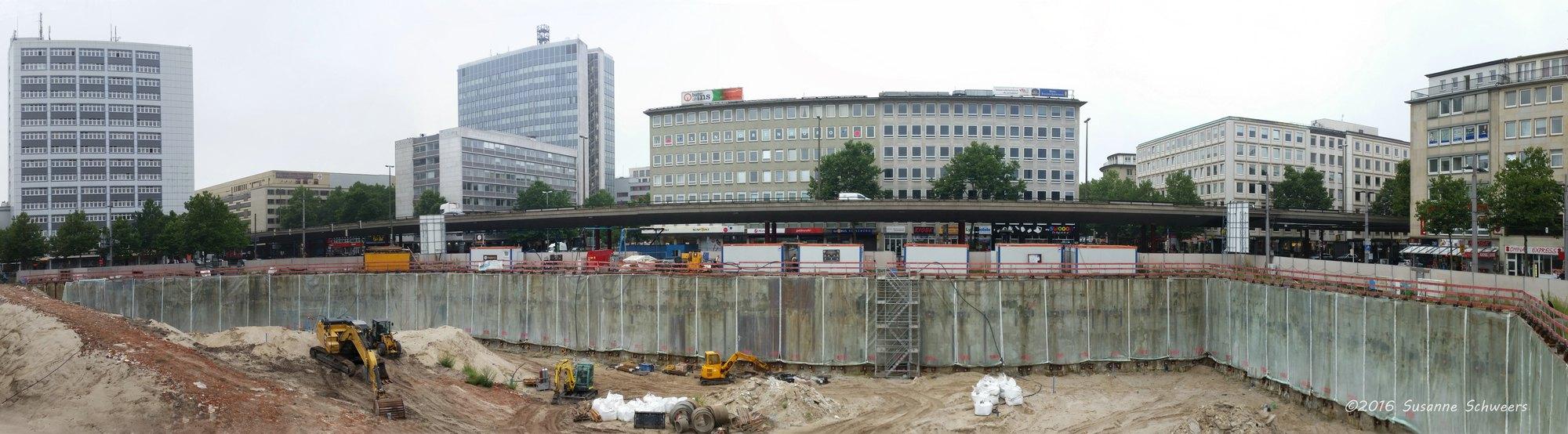 Baustelle Bahnhofsplatz 69