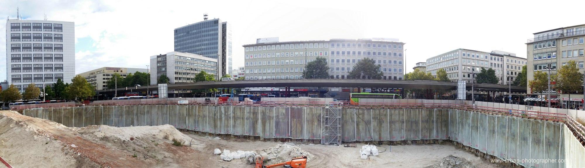 Baustelle Bahnhofsplatz 72