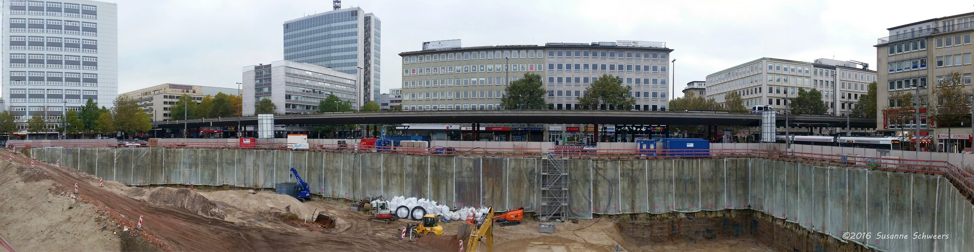 Baustelle Bahnhofsplatz 77