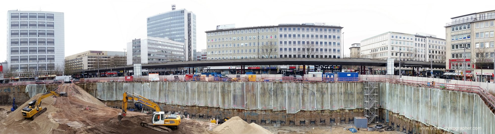 Baustelle Bahnhofsplatz 87