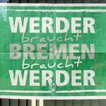 Kanalbauarbeiter unterstützen WERDER BREMEN !