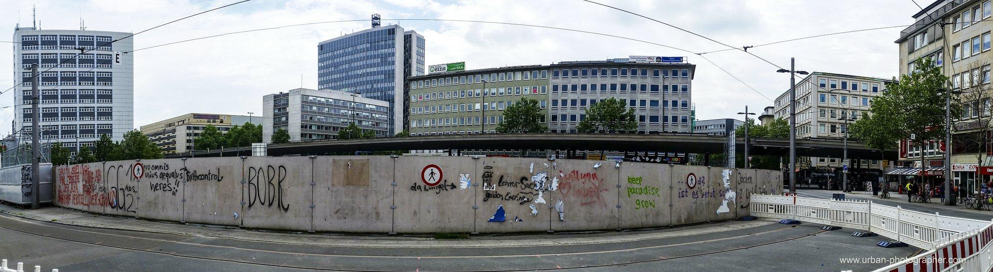 Baustelle Bahnhofsplatz 53