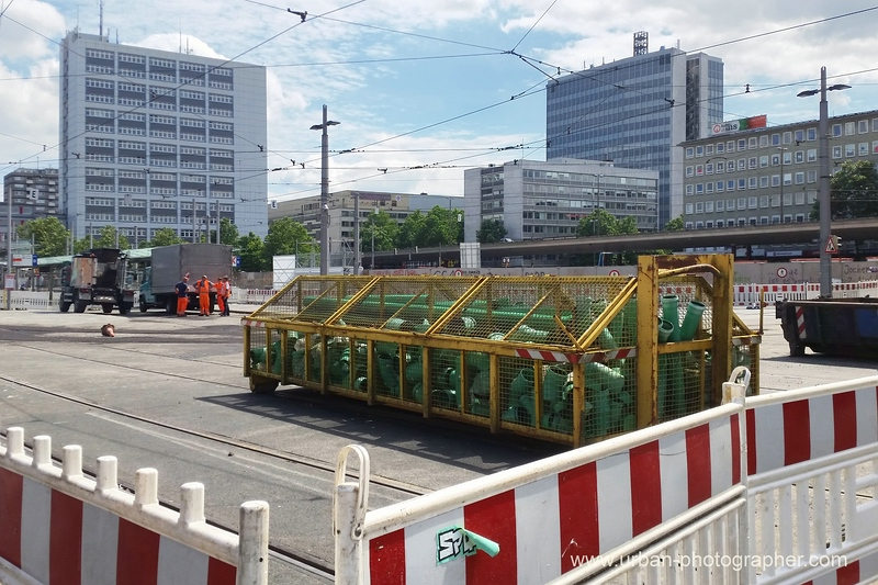 Baustelle Bahnhofsplatz 55