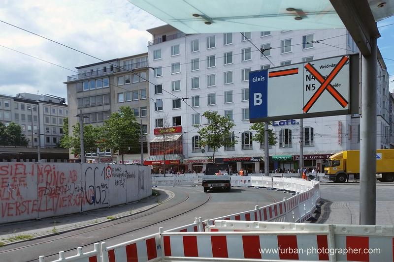 Baustelle Bahnhofsplatz 58