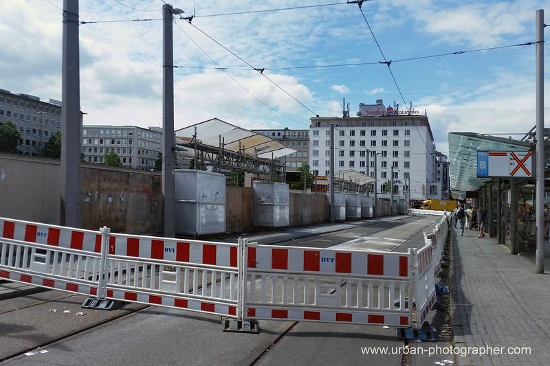 Baustelle Bahnhofsplatz 59