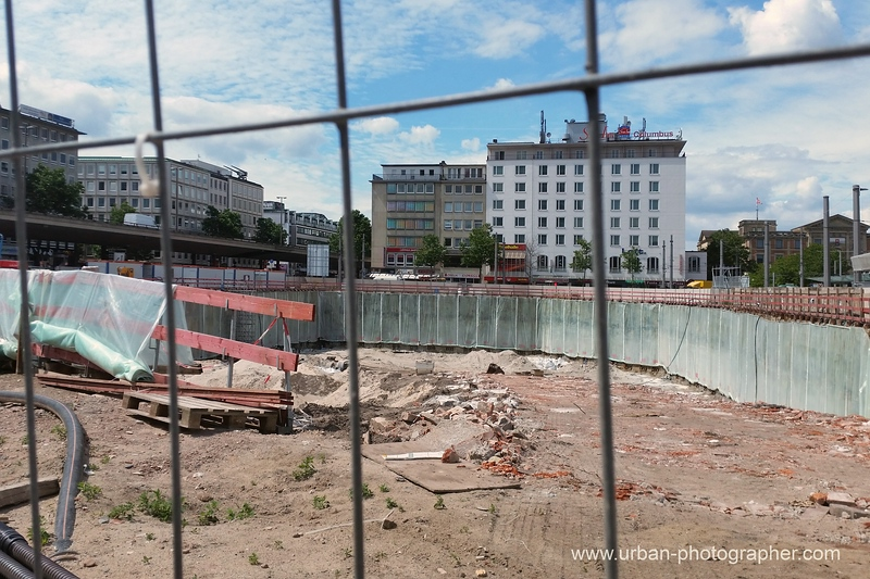 Baustelle Bahnhofsplatz 60