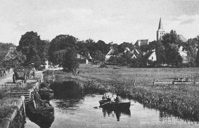 Lesumer Hafen 1920