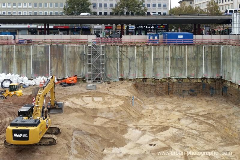 Baustelle Bahnhofsplatz 75