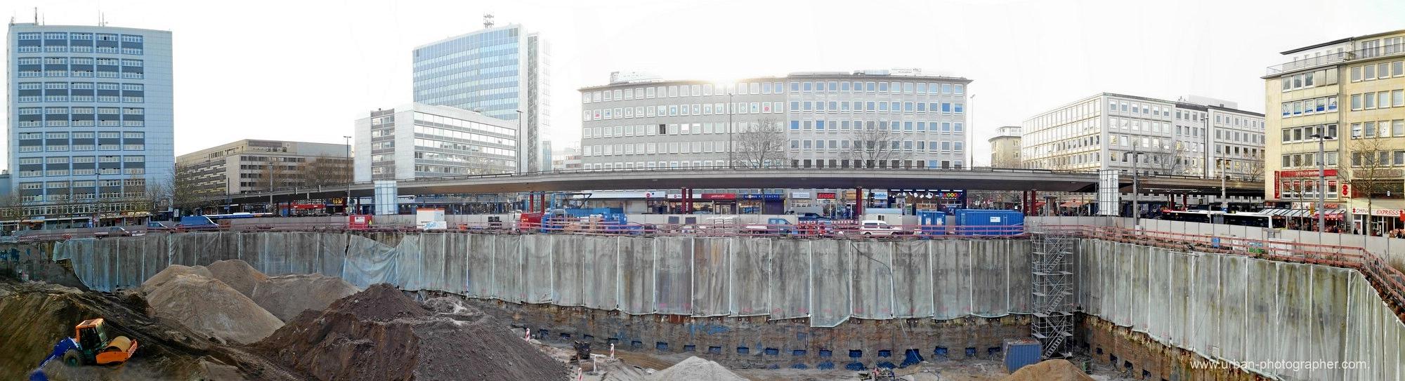 Baustelle Bahnhofsplatz 82