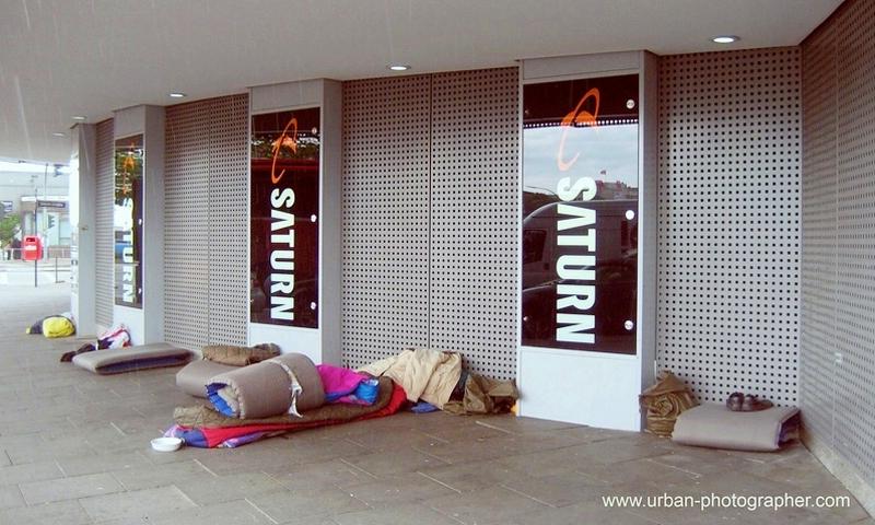 Obdachlosigkeit Hamburg 1