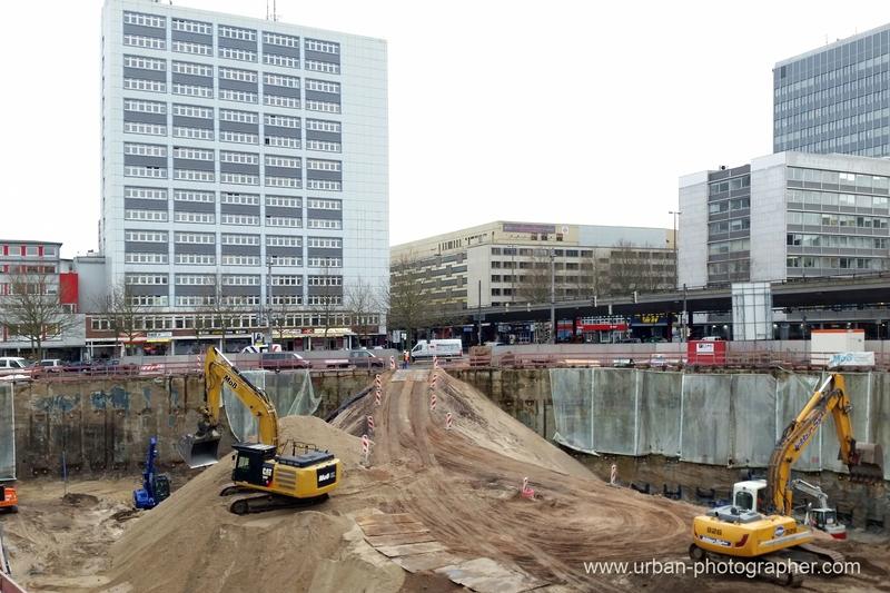 Baustelle am Bahnhofsplatz 83