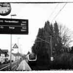 Bahnhof Mühlenstraße in Bremen-Blumenthal und umzu
