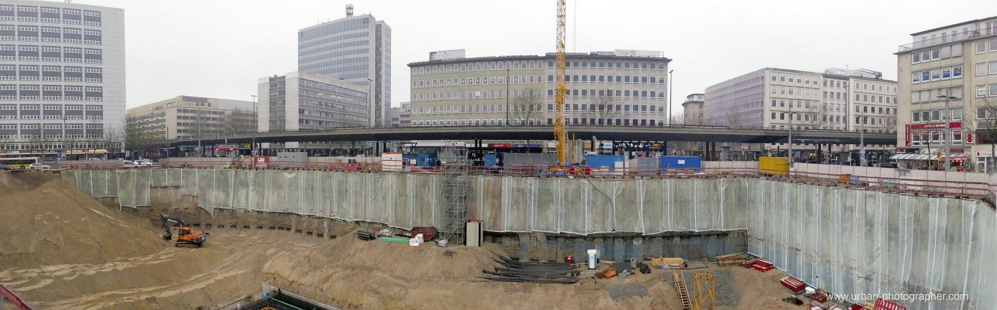 Baustelle Bahnhofsplatz 95