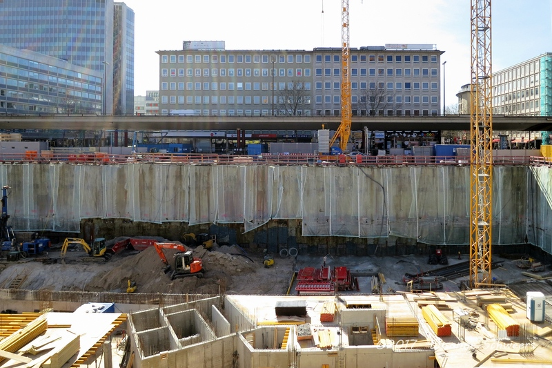 Baustelle Bahnhofsplatz 101